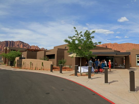 The Center for the Arts at Kayenta was dediated May