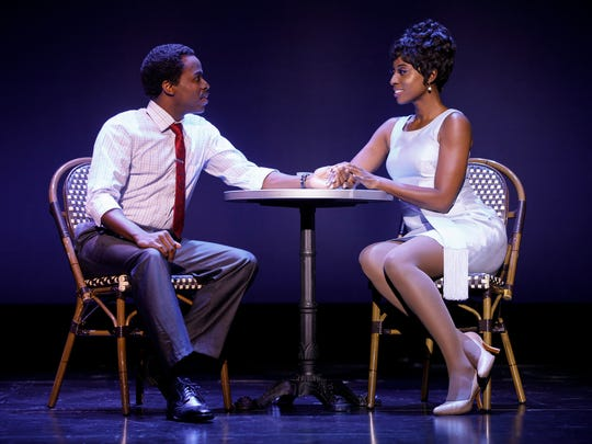 Kenneth Mosley as Berry Gordy and Trenyce as Diana