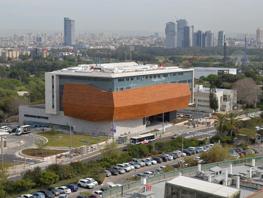 The Steinhardt Museum of Natural History in Tel Aviv,
