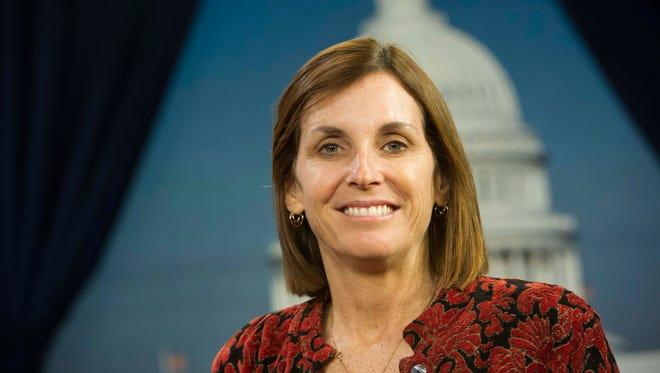 Freshman Rep. Martha McSally, R-Ariz.