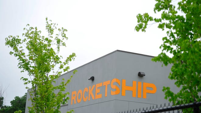 A view of the front of at Rocketship Nashville Northeast Elementary in Nashville Tenn. May 19, 2015.