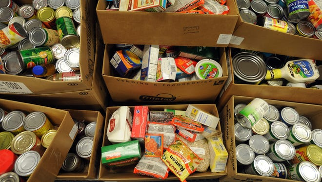 Non-perishable food items will be collected Saturday as part of the annual Holiday Food Drive by Centerville Police and Fire/Rescue departments.