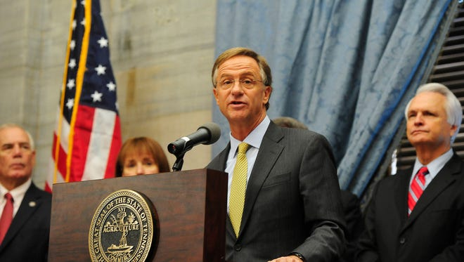 Gov. Bill Haslam's staff spent months working to win the support of university presidents for his FOCUS Act.