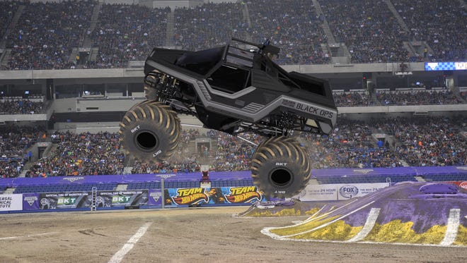 Monster Jam is coming to Ford Field in Detroit on Jan. 30, 2016.