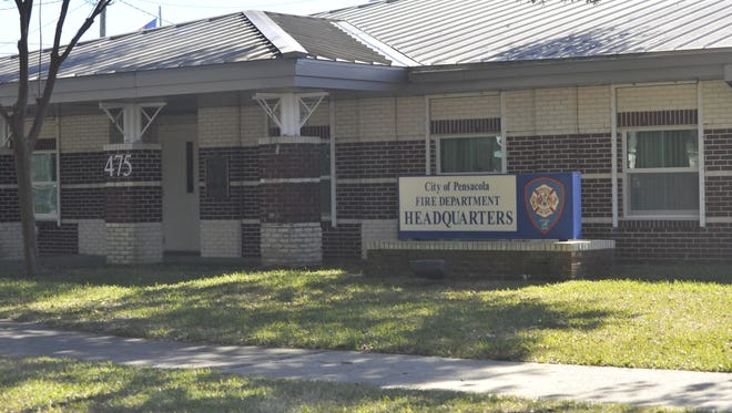 Pensacola Fire Department headquarters.