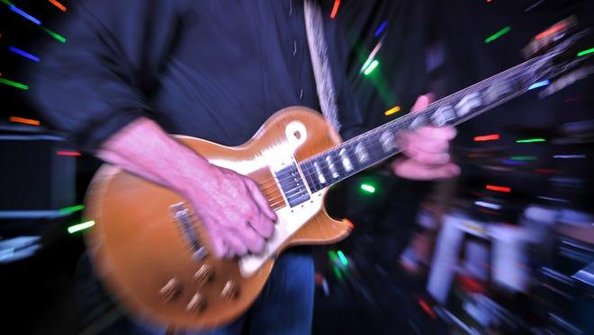 A 1954 Gibson Les Paul Goldtop.