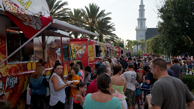 St. Lucie County will begin allowing food trucks to set up in six county parks and facilities. If the pilot program is successful, it could be expanded.