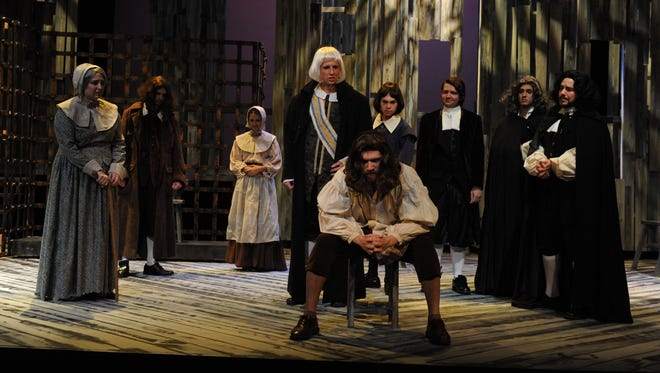 """The cast of TheatreTCC!'s """"The Crucible"""" does Arthur Miller justice."""