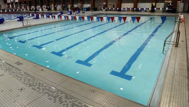 The Centennial Sportsplex offers an open swim from 12pm-4pm Saturdays. Jan. 7, 2017, in Nashville, Tenn.