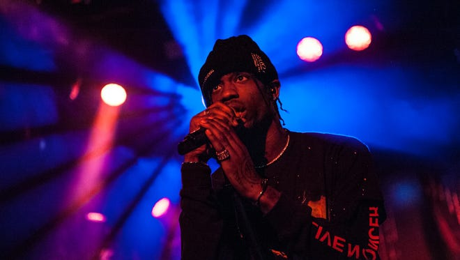 Travis Scott performed a sold-out show at the Rave's Eagles Ballroom Thursday.