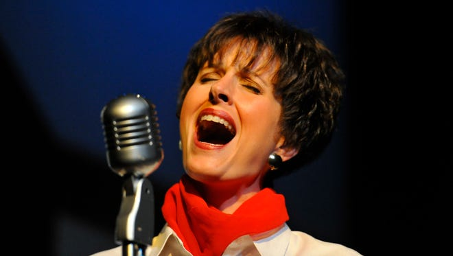 "Dedra Knox played country singer Patsy Cline in the 2012 Angelo Civic Theatre production of ""Always...Patsy Cline."""