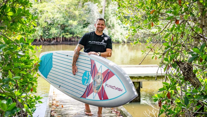 In 2009, John Meskauskas was introduced to paddleboarding and, yet again, found a way to turn something he loved doing into a career, opening his paddle board store in 2012.