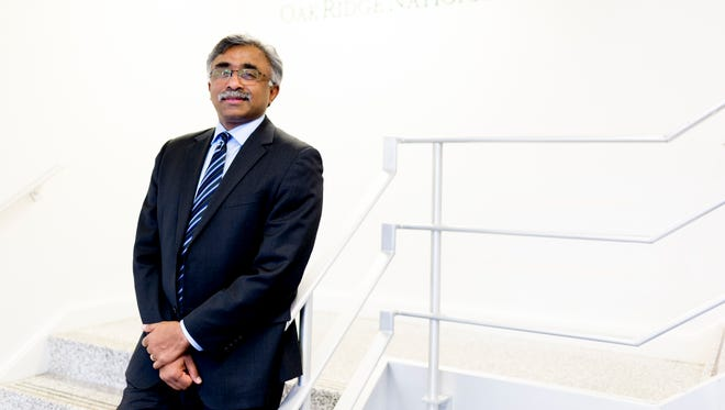In just his first seven months as director of the Oak Ridge National Laboratory, Thomas Zacharia's employees say they often see him walking the halls, talking to scientists and support staff about their projects and ideas.