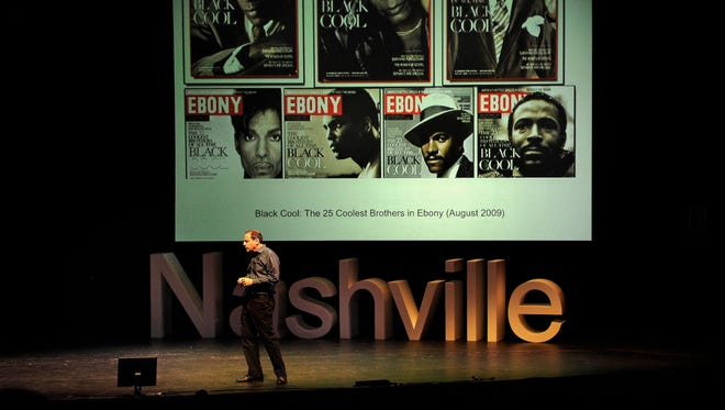 Joel Dinerstein, Professor at Tulane University, gives his talk on Why Cool Matters at TEDxNashville on Saturday.