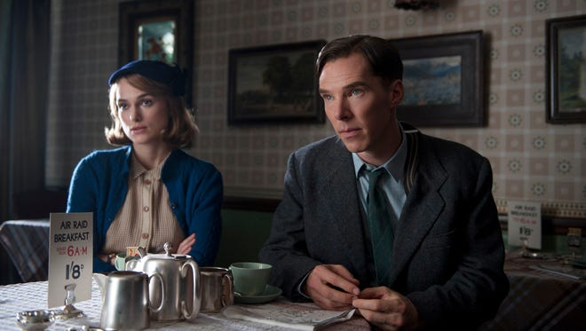 """Keira Knightley and Benedict Cumberbatch jump full on into this year's Oscar race with """"The Imitation Game."""""""
