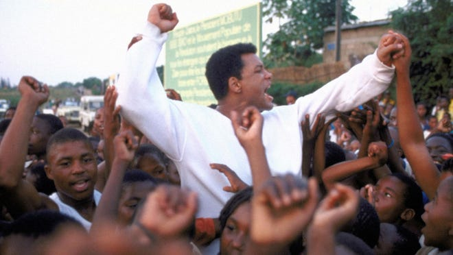 """WIll Smith in a scene from the motion picture """"Ali."""""""