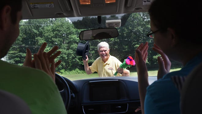 Magician BJ Hickman will be entertaining Saturday, Aug. 15 at noon on stage at the St. John's United Methodist Church for people in their cars as part of this year's Cochecho Arts Festival, which will be a weekend of performances Aug. 14 to 16.