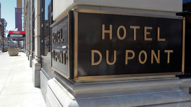 The DuPont Co. would not confirm reports that its hotel and golf course are for sale.