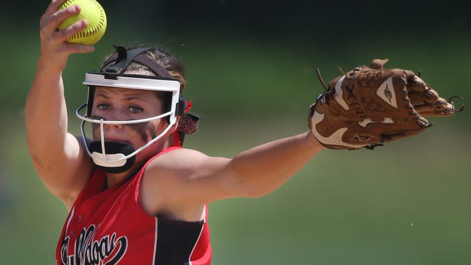 Regan Green and Laurel are ranked No. 2 in softball.