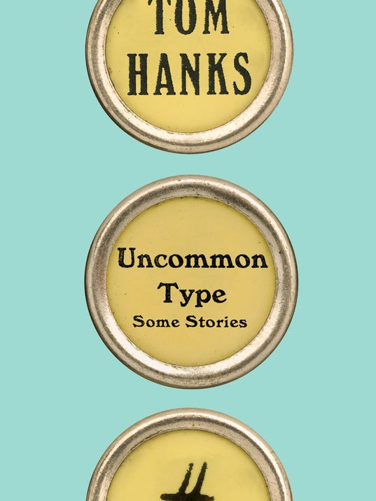 New Tom Hanks Uncommon Type Some Stories Signed Book 1/1 HC DJ Oscar Actor Movie