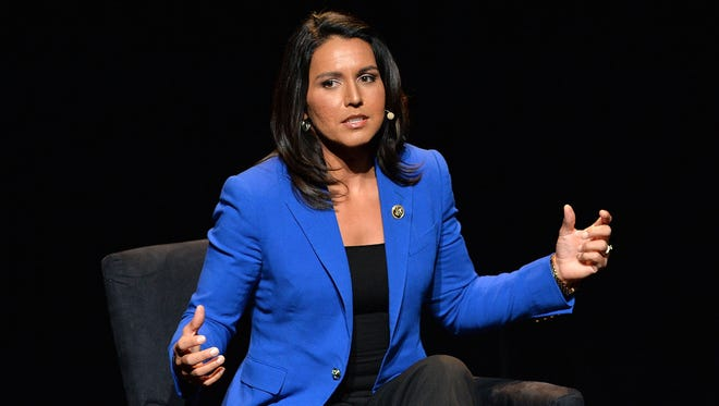 U.S. Representative, HI-02 Tulsi Gabbard attends the 2016 'Tina Brown Live Media's American Justice Summit' at Gerald W. Lynch Theatre on January 29, 2016 in New York City.