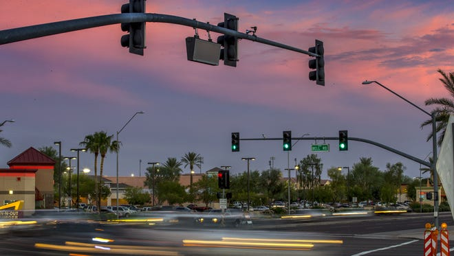 The intersection of 83rd Avenue and Bell Road in Glendale is one of the 10 most dangerous in the city, the Glendale Police Department says.