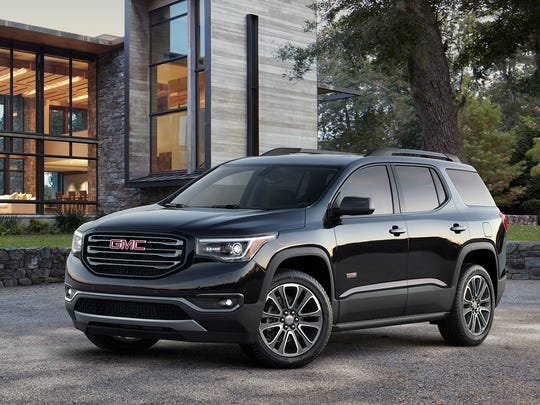 The 2018 GMC Acadia, an SUV that has a significant discount going into Memorial Day weekend. This three-row crossover was fully redesigned last year, improving its handling and fuel economy.