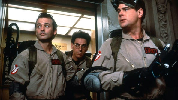 """Ghostbusters"" hits Netflix in March."