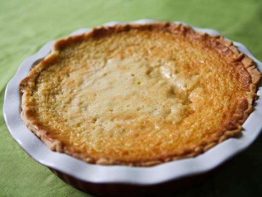 Buttermilk pie photo