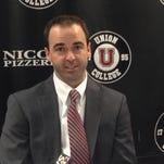 Joe Dumais, assistant coach at Union College (Auburn native & St. Dominic Academy alum)