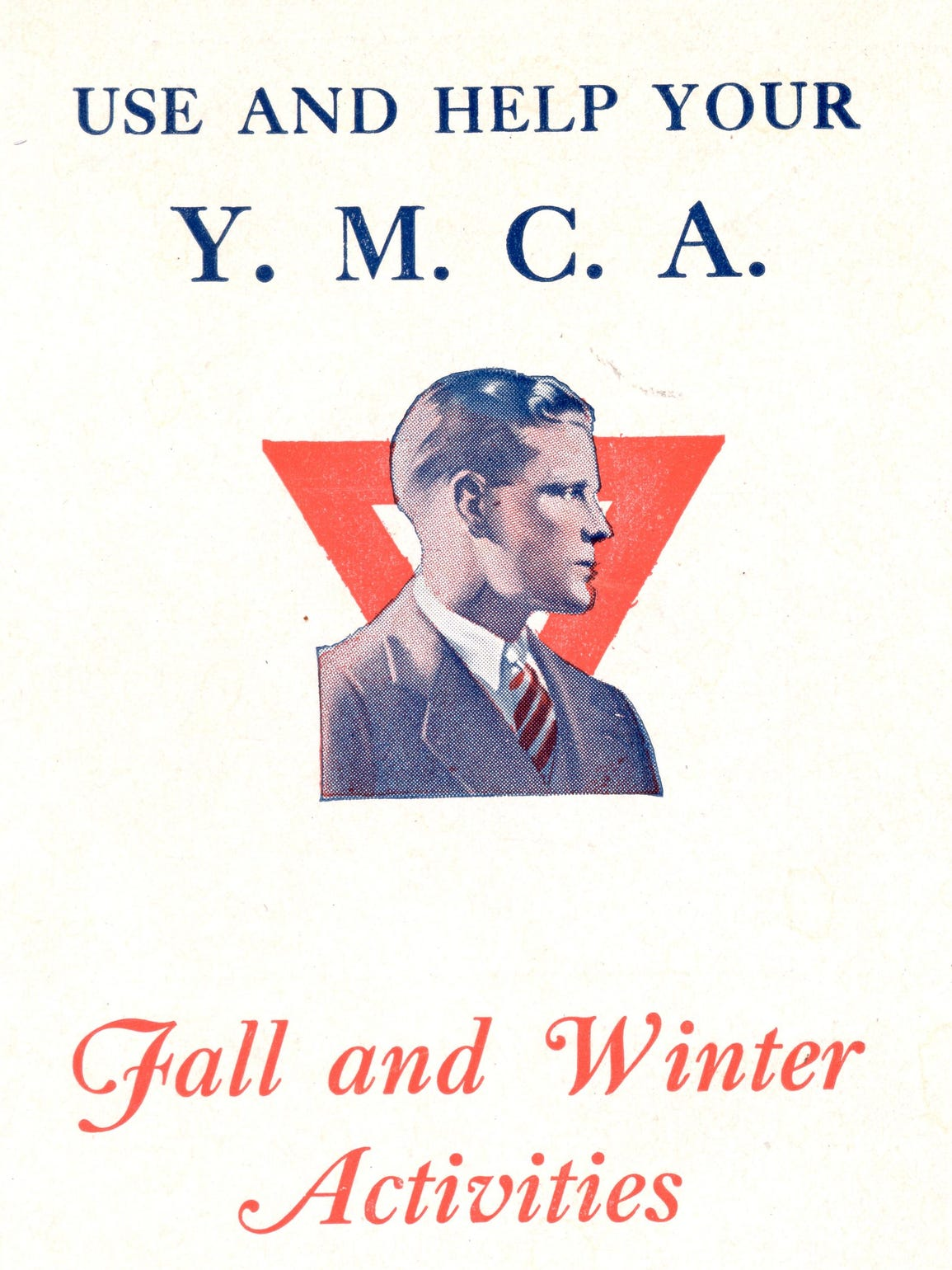 YMCA brochure from 1927, a precursor to today's Program