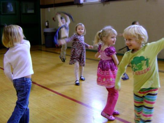 Preschool Dance Class  Westwood 2012