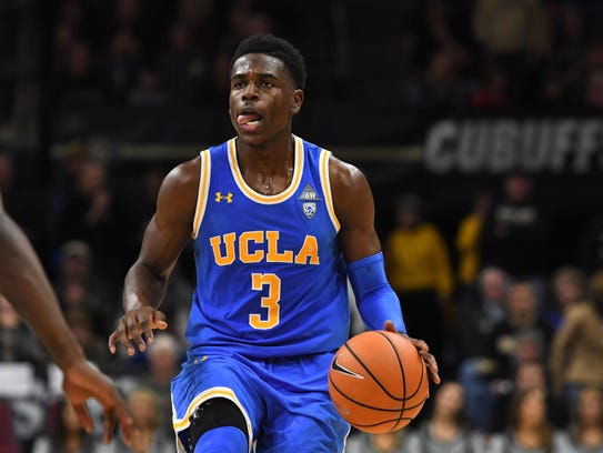 Junior guard Aaron Holiday averages 20.3 points, tops