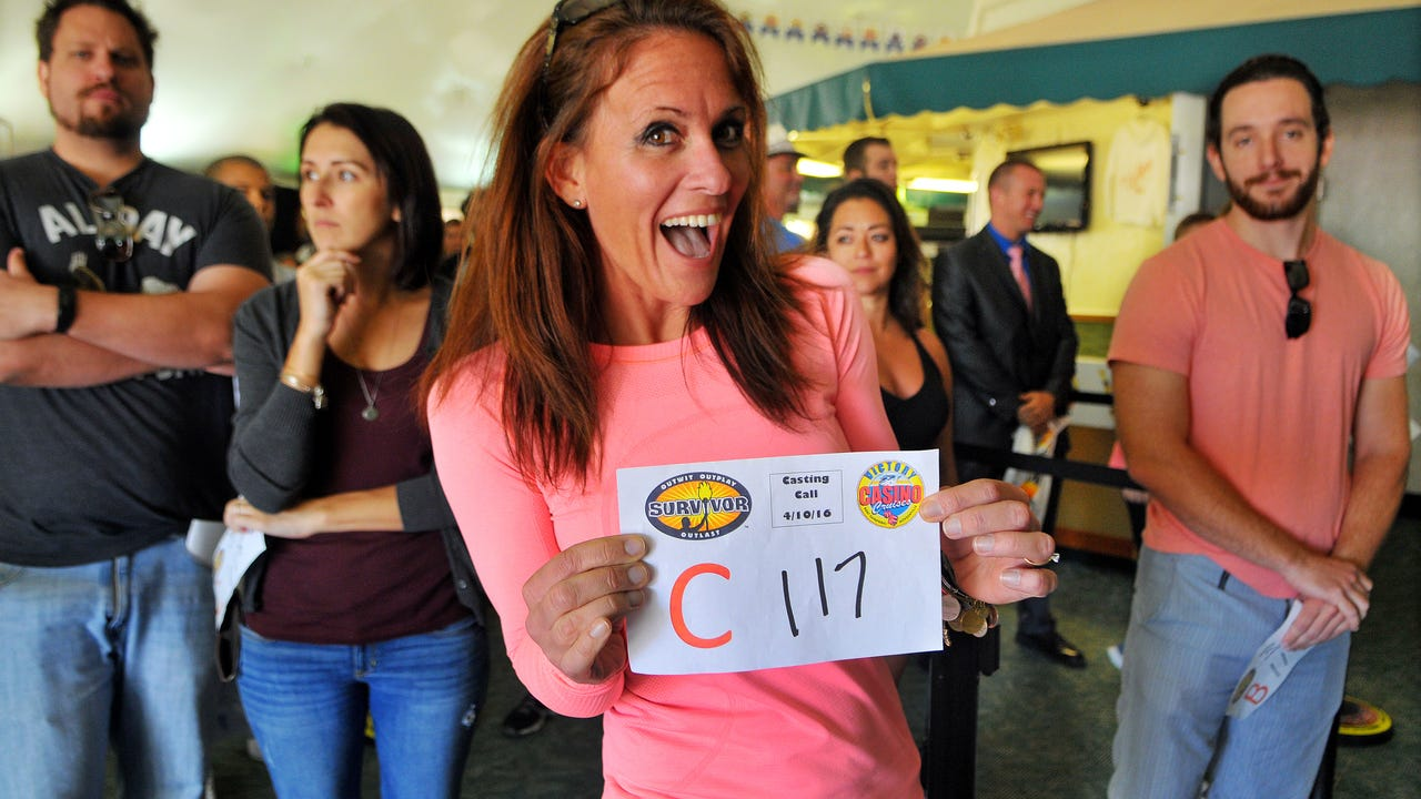 """""""Survivor"""" casting call at Port Canaveral. Video by Craig Rubadoux. FLORIDA TODAY Posted April 10, 2016"""
