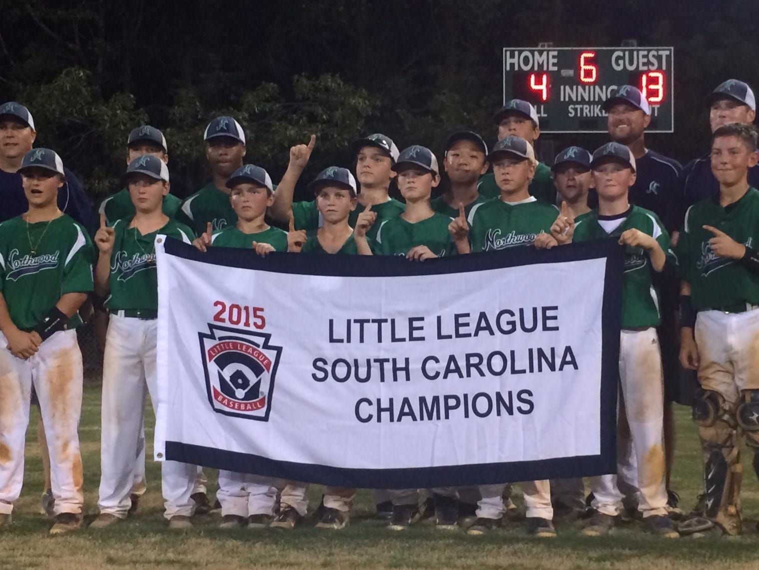 Northwood Little League, the South Carolina state champion, has won its first two games in the Little League Baseball Southeast Regional in Warner Robins, Georgia.