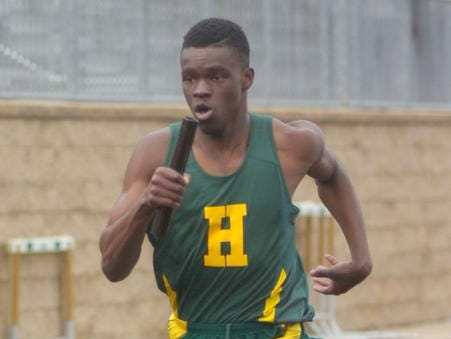 Michael Ojemudia will run the hurdles and relays for the Hawks.