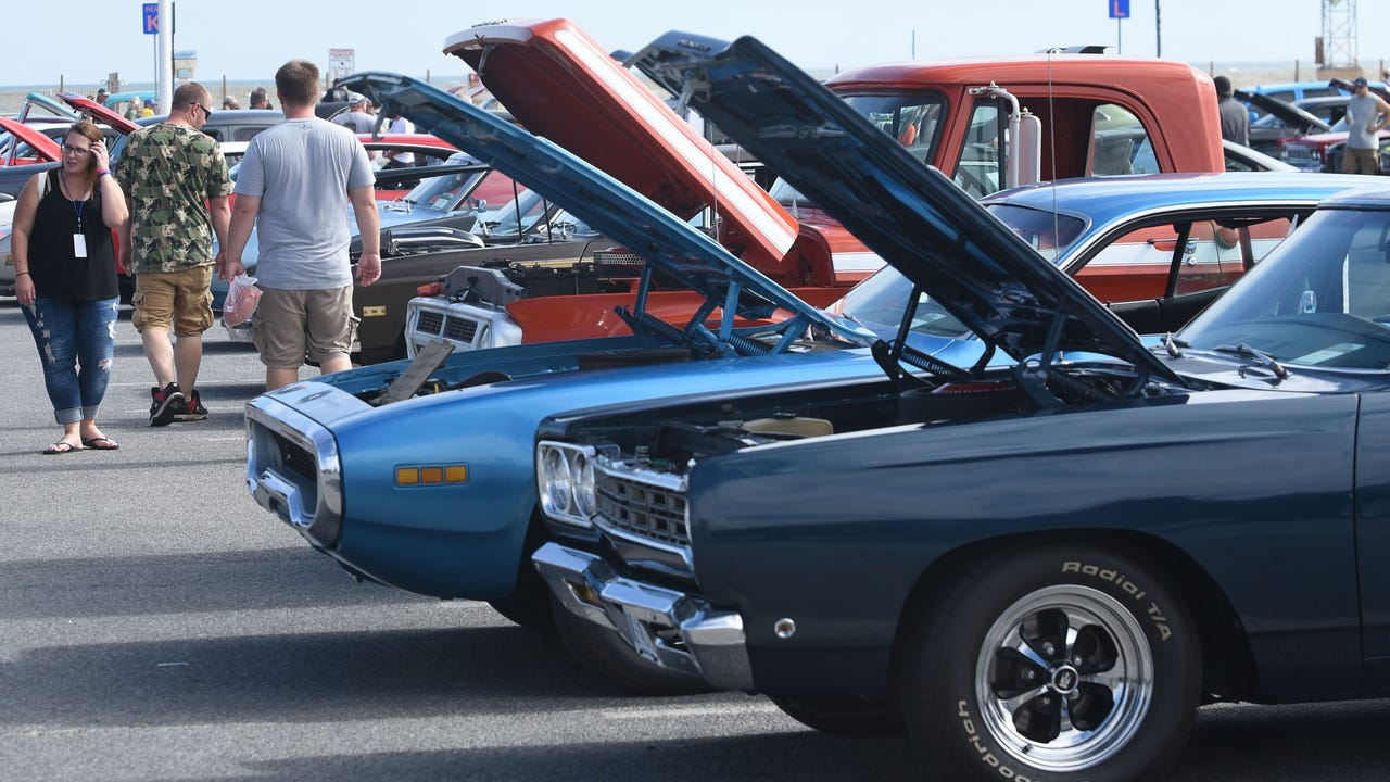Hundreds of classic cars and trucks descended on Ocean City on the weekend of Oct. 6, 2017.