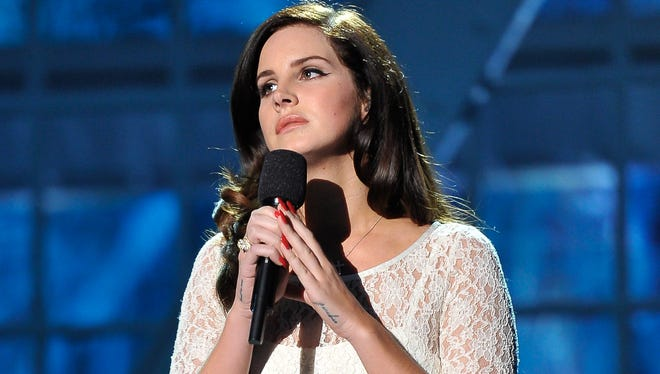 Lana Del Rey performs at the 2014 Breakthrough Prizes Awarded in Fundamental Physics and Life Sciences Ceremony at NASA Ames Research Center on Dec. 12, 2013, in Mountain View, Calif.