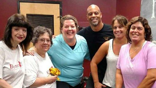 BetterU Challenger, Diane Labenski, second from left,