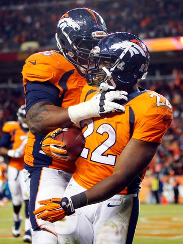 C.J. Anderson (22) rushed for 167 yards and a TD.