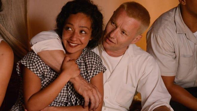 "Ruth Negga and Joel Edgerton star in the true story ""Loving."""