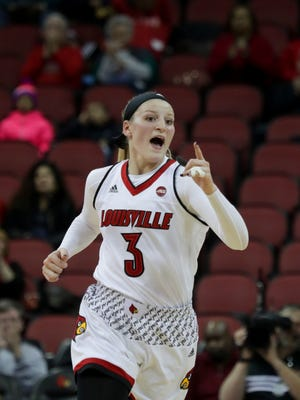 The Louisville women's basketball team earned the top seed in the ACC Tournament.