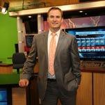 Jamie Warriner, chief meteorologist at KOLR 10, on Wednesday, May 27, 2015.