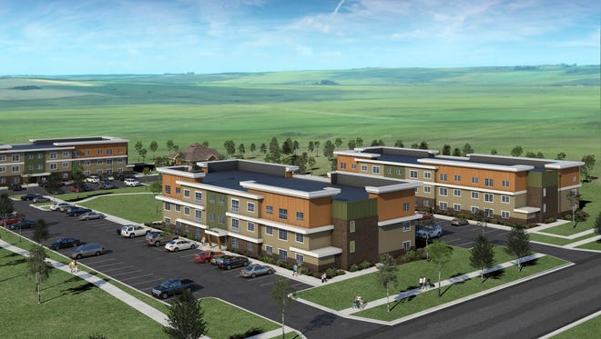 A Costello Companies project, the Majestic Ridge complex will be located along Sparta Avenue in the Majestic Meadows Addition in southeast Sioux Falls.