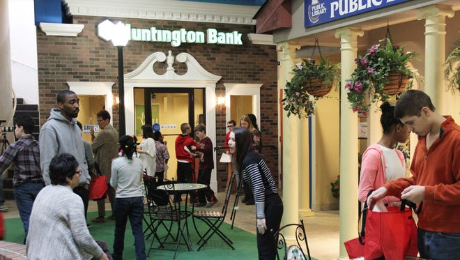 LifeTown, located at the Meer Center in West Bloomfield, has a bank branch and a library where special-needs students can learn some of life's lessons.
