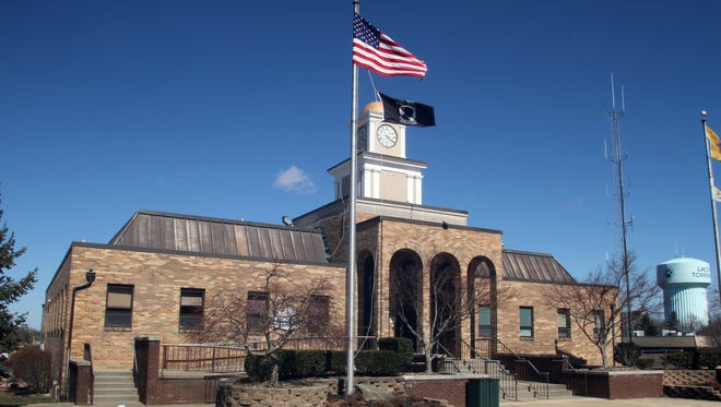 Lacey Township municipal building.