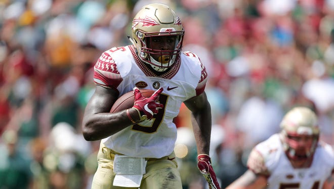 Florida State junior tailback Jacques Patrick will carry the Seminoles' run game in 2017.