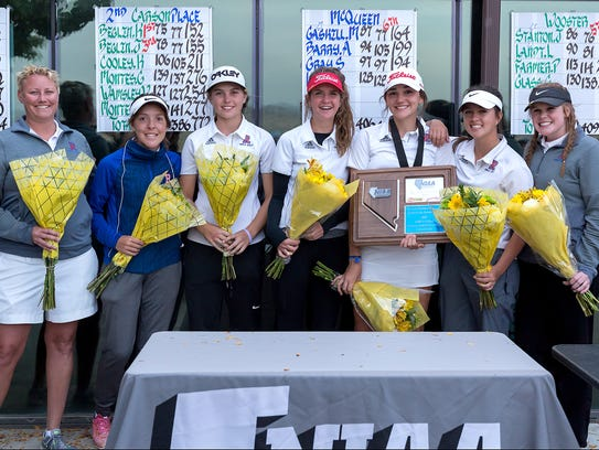 The Reno girls won the team title in the Northern 4A
