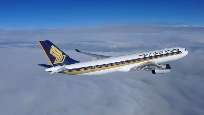 An undated file photo of a Singapore Airlines Airbus A330-300.