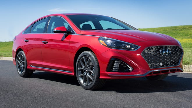 For 2018, Hyundai has upped its game with the restyled and roomy Sonata lineup of midsize sedan models.